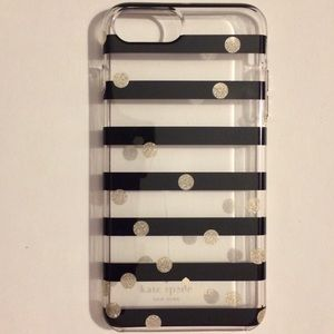 kate spade black & gold cover iPhone 6+, 7+, 8+